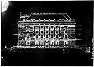 HistoricalFindings Photo: Hudson County Courthouse,583 Newark Avenue,Jersey City,New Jersey,NJ,HABS,32
