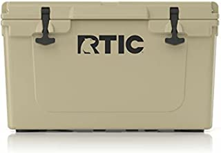 RTIC Hard Cooler, Ice Chest with Heavy Duty Rubber Latches, 3 Inch Insulated Walls Keeping Ice Cold for Days, Great for th...