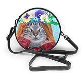 Jojoshop - Bolso bandolera para mujer, diseño de gato