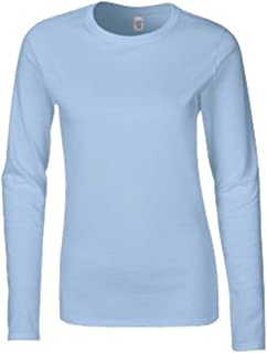 Women's Softstyle Cotton Long Sleeve T Shirt