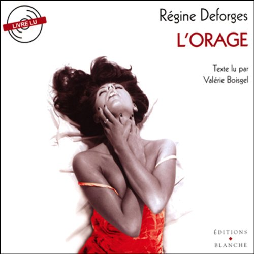 L'orage audiobook cover art