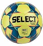 SELECT Mimas Ballon de futsal  I Jaune/Bleu I official size