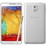 """Samsung - Smartphone Galaxy Note 3 sbloccato, display 5,7"""", risoluzione 1920 x 1080 pixel, Super AMOLED, 2,3 GHz, 3072 MB, 32 GB, colore bianco"""