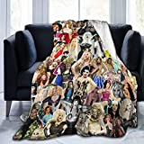 RuPaul's Drag Race Gifts for Women Throw Blankets Baby Warm ,for Sofa, Bed,Living Room, Durable Home...