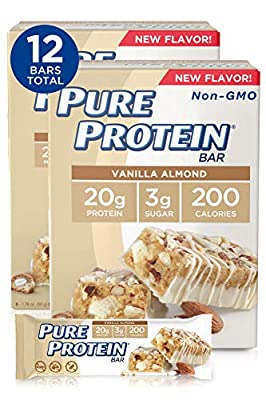 Pure Protein Bars, High Protein, Nutritious Snacks to Support Energy