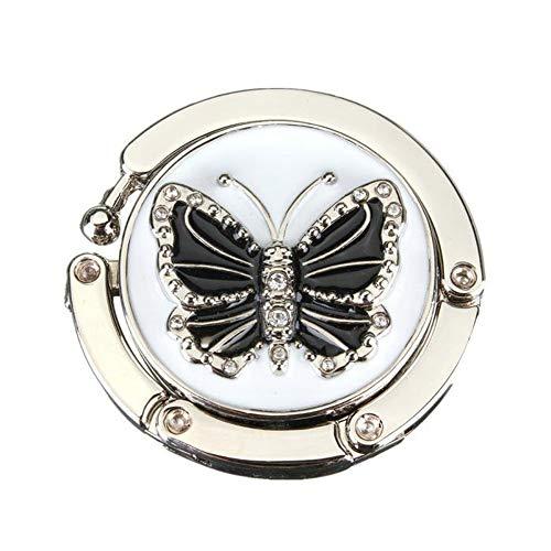 PKXXB Kleerhangers in vlindervorm, handtas, haken, inklapbaar