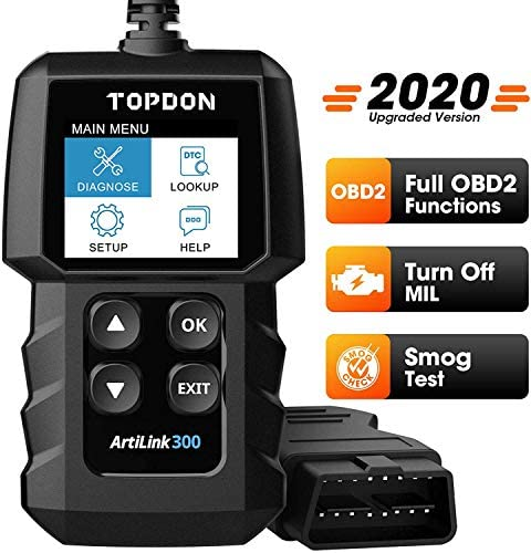 OBD2 Scanner Code Reader TOPDON AL300 car Auto Diagnostic Tool with Full OBD2 Functions Engine product image