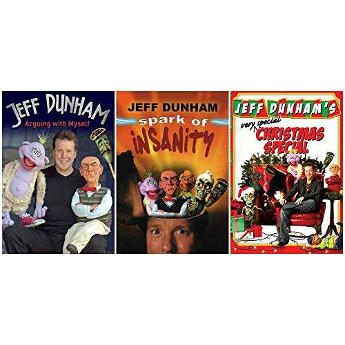Jeff Dunham: Stand Up Comedy DVD Collection (Arguing With Myself / Spark of Insanity / Very Special Christmas)