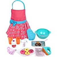 Click N' Play Doll Baking Set with Apron and Baking Utensil Accessories