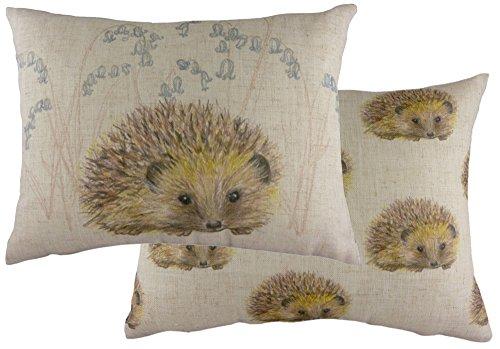 Evans Lichfield Hedgehog Repeat Cushion