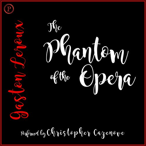 The Phantom of the Opera audiobook cover art