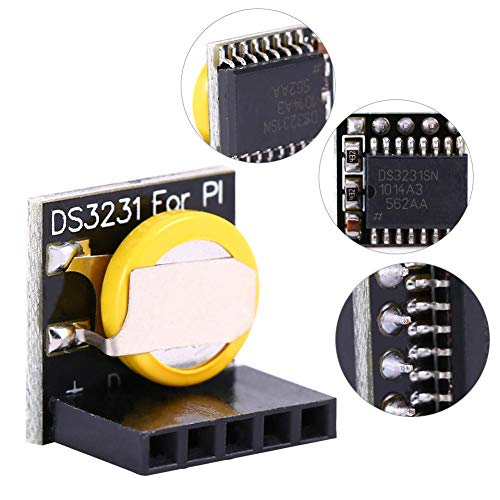 Zerone DS3231 RTC Board Echtzeituhrmodul 3.3V / 5V mit Akku für Arduino Raspberry Pi