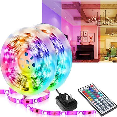 LED Light Bar with Remote Control, Used in Room, Bedroom, TV, Kitchen, Desk, Multi-Color LED Light Bar, 12V Power Supply