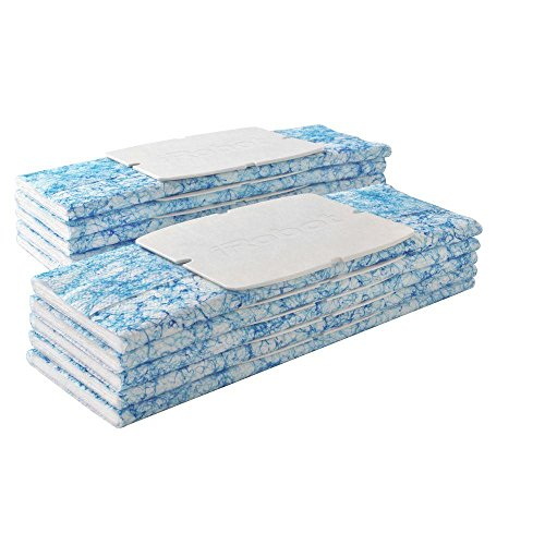 iRobot Authentic Replacement Parts- Braava jet 200 Series Wet Mopping Pads (10-Pack)