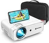 Videoprojecteur, VANKYO Projecteur Soutien 1080P Full HD , Mini Retroprojecteur Portable Multimédia Cinéma Maison,...
