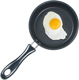 Genmine Nonstick Frying Pan Small Egg Pancake Round Mini Non Stick Fry Pan Dishwasher Safe Cookware 4.75-Inch