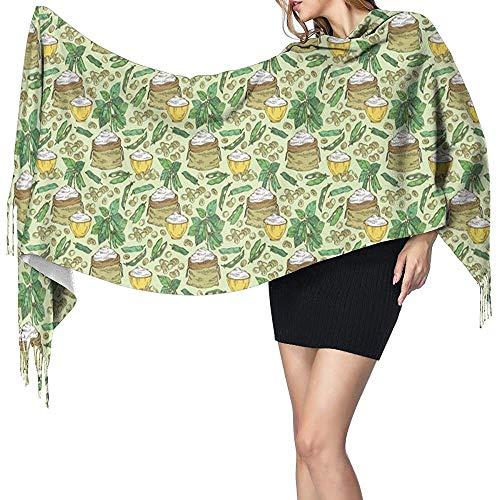 Soja meel sojabonen plant vrouwen winter warme sjaal mode lange grote zachte kasjmier sjaal wrap sjaals