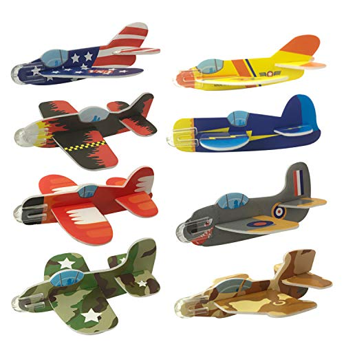 Playko Paper Airplanes for Kids - Pack of 72 Airplane Gliders - 4 inch...