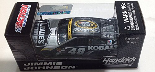 2016 Kobalt Sprint Cup Champion #48 JIMMIE JOHNSON LOWES 1/64 1:64 SCALE DIECAST RACE CAR Action Racing Collectables