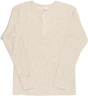 (ヘルスニット) Healthknit ロングスリーブ サーマル ヘンリーネック Tシャツ カットソー ロンT パックT HK601L