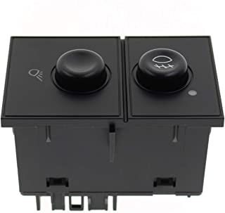 AUTOKAY Fog Light & Cargo Lamp Switch 15143597 for 03-07 GMC Sierra 1500 2500 3500 15076588 Fits Chevy Silverado 1500 2500...