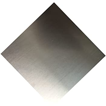 RMP 3003 H14 Aluminum Sheet, 12 Inch x 12 Inch x 0.125 Inch Thickness