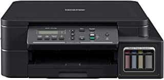 Brother DCP-T510W Colour Inkjet Printer with Refill Tank System, Wireless connectivity, Mobile Printing, Ultra High-Yield Ink