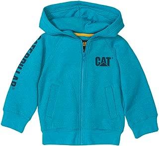 CAT Little Boys' Tm Banner Zip Sweatshirt