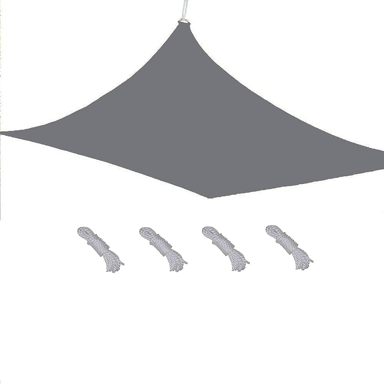 QIAOH Sun Shade Sail Large Pati Max 61% OFF x Rectangle Washington Mall for 6'