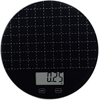 LICHUXIN Digital Kitchen Weighing Scales 5kg/1g Measuring in Kg, G, Oz, Lb, Easy Clean – Black for Weighing With Precision