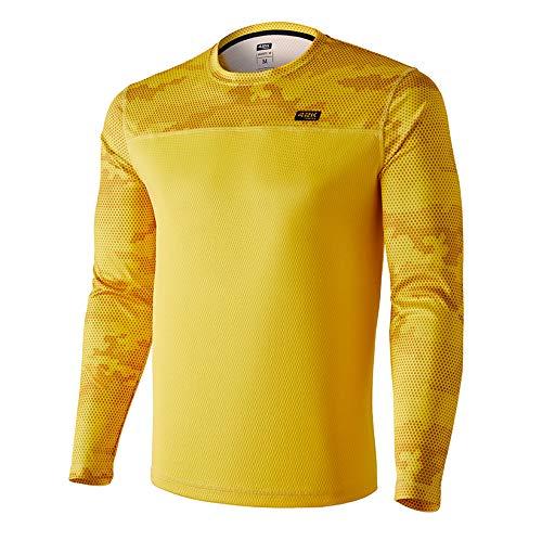 42K Running - Camiseta técnica Manga Larga 42k MIMET Winter Ambar Yellow L