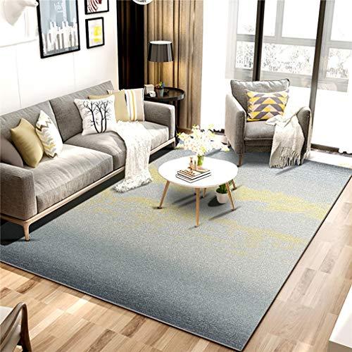 Rug Nniu Rechthoekig tapijt, korte pile, antislip, groot tapijt voor woonkamer, slaapkamer, salontafel, mat dikte 6 mm