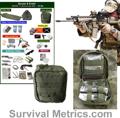 100% quality warranty! Escape Evade SERE II Tactical Survival Military Kit Animer and price revision