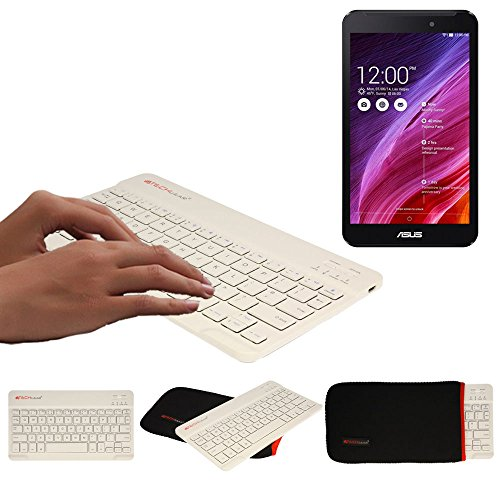 TECHGEAR [Active Strike (S) Slim Line Bluetooth Draadloos UK toetsenbord met draagtas