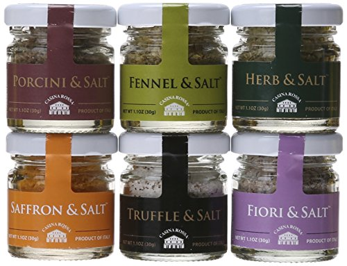 Flavored Salt Sampler