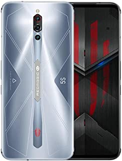 موبايل ريد ماجيك 5S بشريحتين اتصال، فضي سونيك، 128 جيجابايت، RAM 8 جيجابايت، 5G LTE
