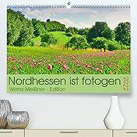 Nordhessen ist fotogen - Werra-Meissner - Edition (Premium, hochwertiger DIN A2 Wandkalender 2022, Kunstdruck in Hochglanz): In Hessen rechts oben ... (Monatskalender, 14 Seiten )