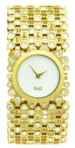 D&G Dolce&Gabbana Damen-Armbanduhr Analog Quarz Edelstahl DW0244