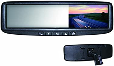BOYO VTB46M - Replacement or Clip-on Rear-View Mirror with 4.3