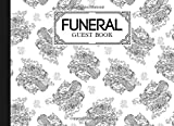 """Funeral Guest Book: Dragon Cover Funeral Guest Book, Memorial Guest Book, Condolence Book, Remembrance Book for Funerals or Wake, Memorial Service Guest Book, 150 Pages, Size 8.25"""" x 6"""""""