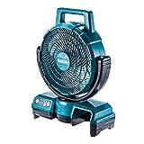 マキタ 充電式ファン羽根径23.5cm青(10.8V) ACアダプタ付/バッテリ充電器別売 CF202DZ