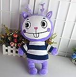 N-R Stuffed Toys Happy Tree Friends Plush Dolls Anime HTF Flippy Plush Toys Soft Mime 38CM