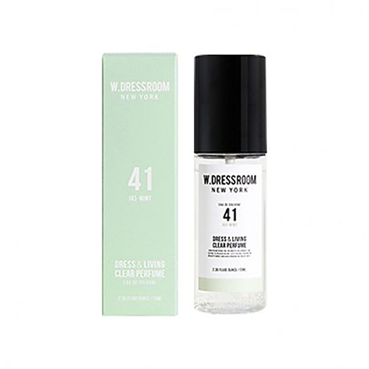 居眠りする受け皿倒錯W.DRESSROOM Dress & Living Clear Perfume fragrance 70ml (#No.41 Jas-Mint)/ダブルドレスルーム ドレス&リビング クリア パフューム 70ml (#No.41 Jas-Mint)