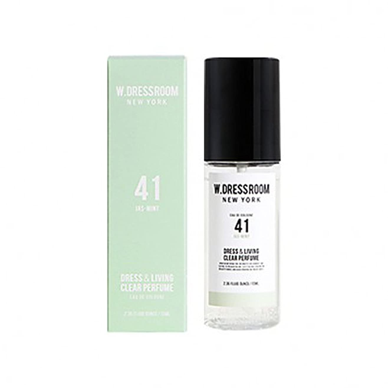 喜劇兵器庫眠っているW.DRESSROOM Dress & Living Clear Perfume fragrance 70ml (#No.41 Jas-Mint)/ダブルドレスルーム ドレス&リビング クリア パフューム 70ml (#No.41 Jas-Mint)