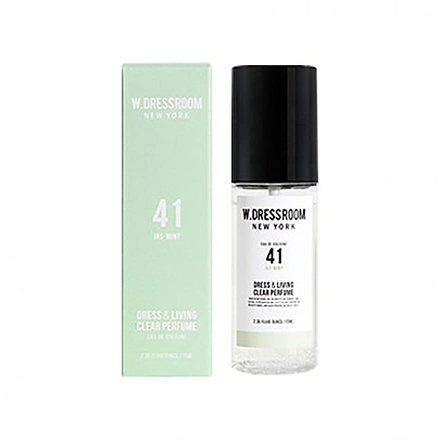 正規化いらいらさせるマーキーW.DRESSROOM Dress & Living Clear Perfume fragrance 70ml (#No.41 Jas-Mint)/ダブルドレスルーム ドレス&リビング クリア パフューム 70ml (#No.41 Jas-Mint)