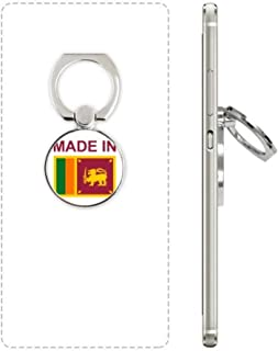 Made in Sri Lanka Country Love Cell Phone Ring Stand Holder Bracket Universal Smartphones Support Gift