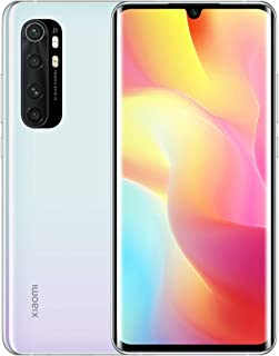 Xiaomi Mi Note 10 Lite Smartphone 6GB 128GB AI Quad telecamera 6.47″ 3D curved AMOLED Display 5260 mAh Glacier White