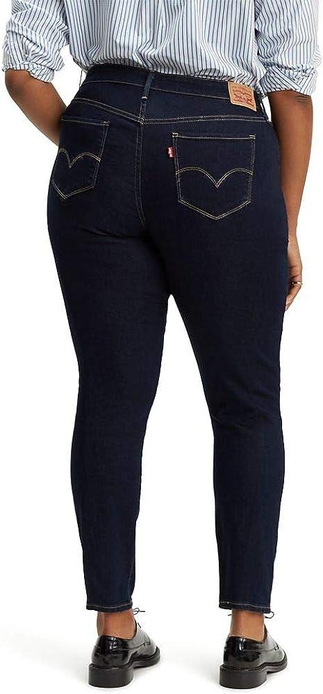Levi's Jean Skinny pour Femme Taille Plus 311 Ciel Sombre.