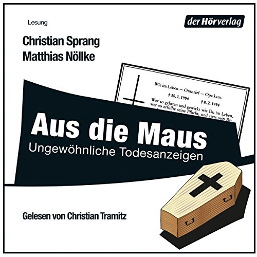 Aus die Maus audiobook cover art