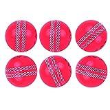 Kosma Juego de 6 bolas de cricket Wind Ball | Pelotas de entrenamiento suave |...